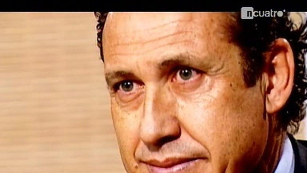 Valdano, el hombre fuerte del presidente