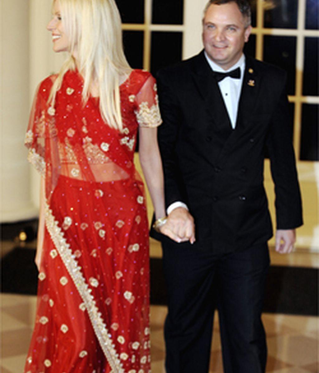 Un matrimonio se cuela en una cena en la Casa Blanca