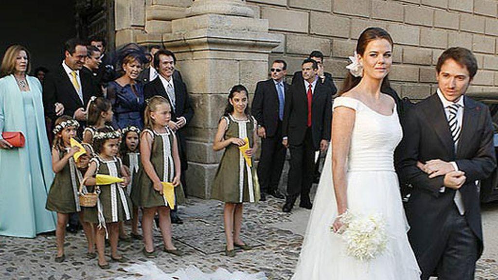 Una boda con mucho caché