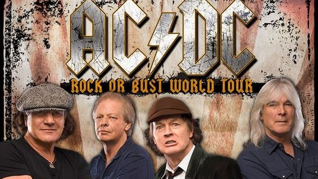 AC/DC,rock or Bust World Tour 2016