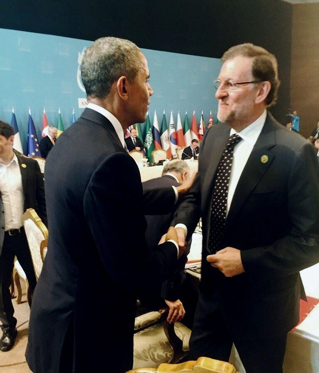 Rajoy con Obama