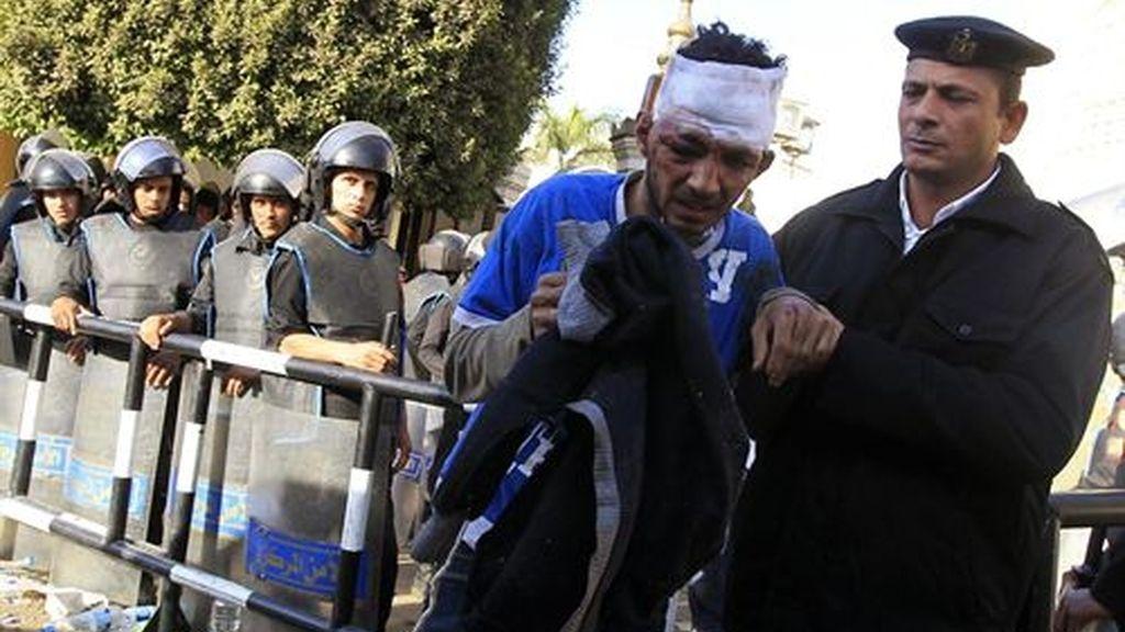 Enfrentamientos con diez detenidos