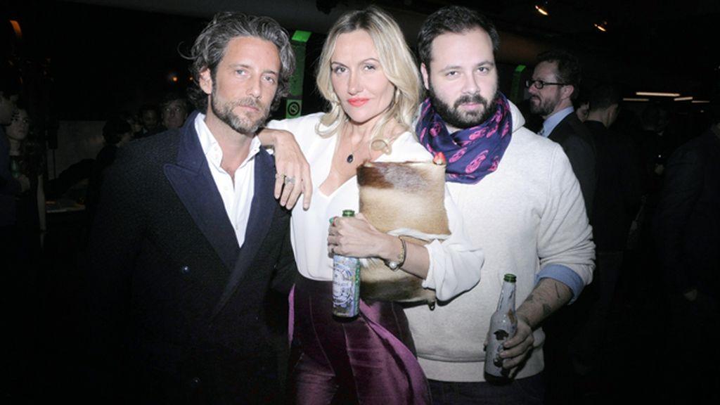 Hugo Portuondo, Clara Courel y Javier de Juanas