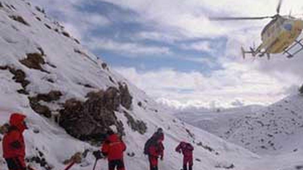 El grupo se perdió cuando empezó a nevar. Vídeo: ATLAS