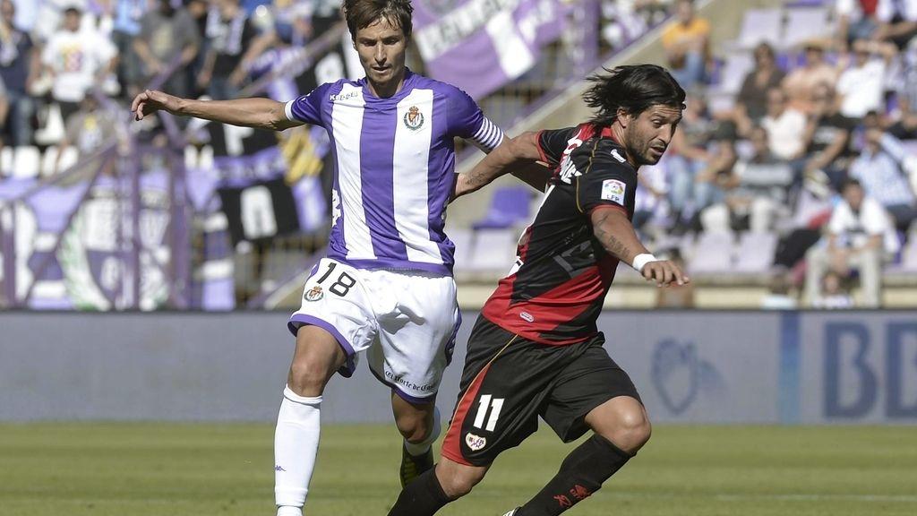 El Valladolid humilla al Rayo Vallecano. Foto: EFE.