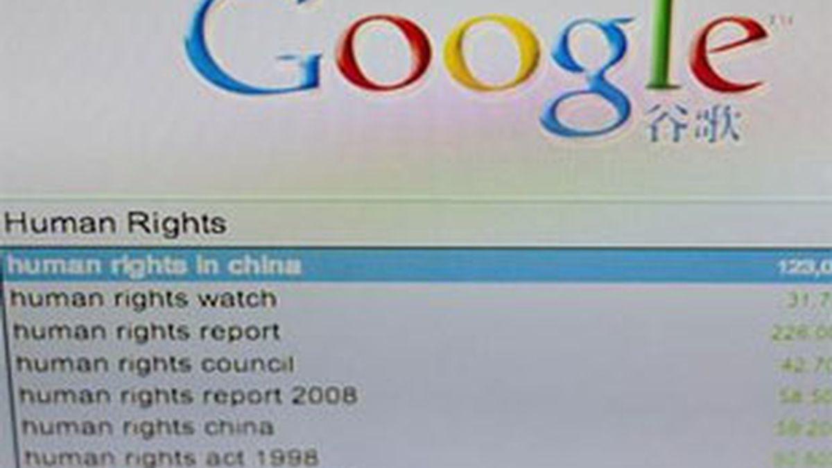 Google planta cara al Gobierno chino al amenazar con abandonar el país. Foto: EFE.