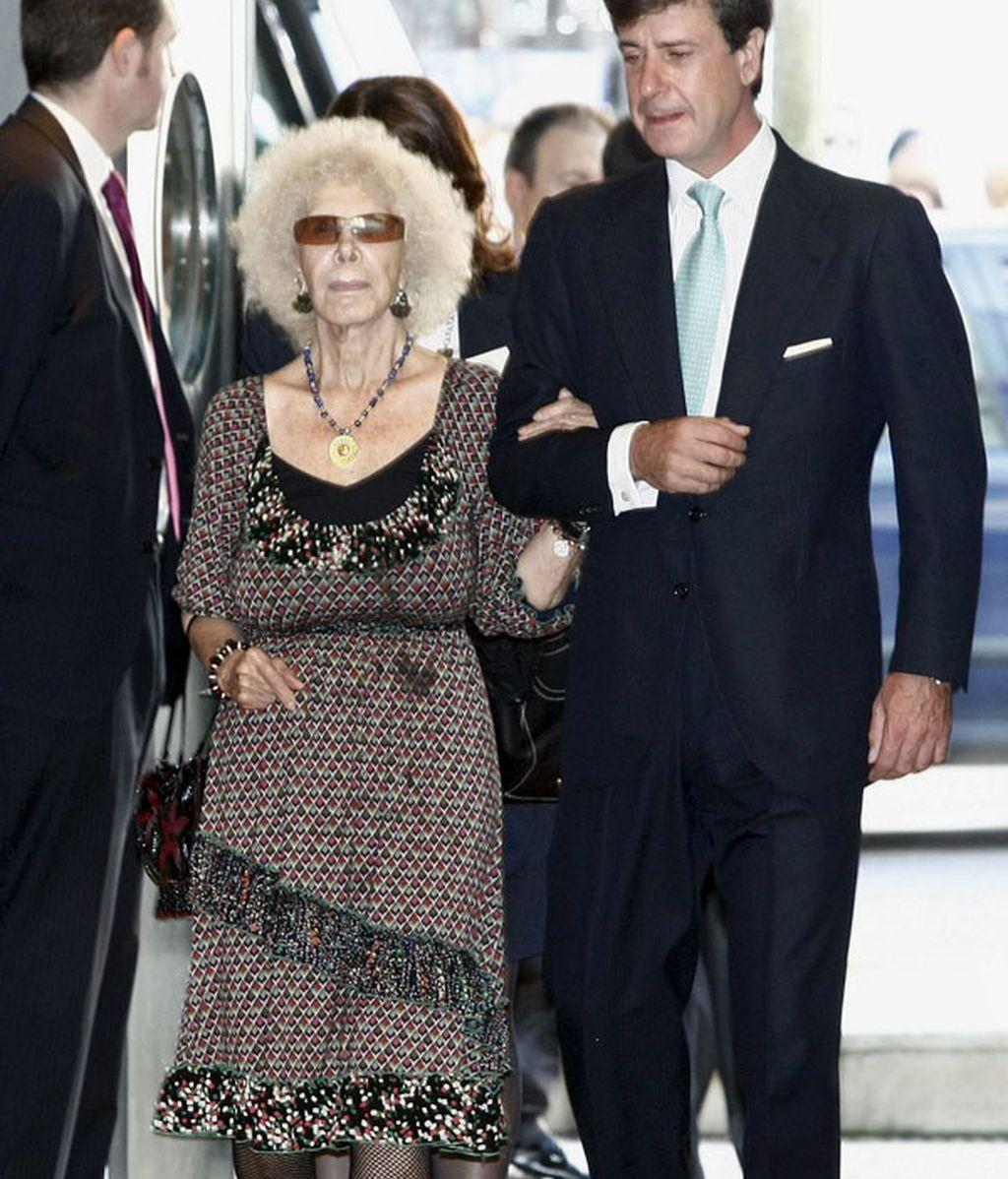 Cayetana de Alba apoya a su ex-yerno