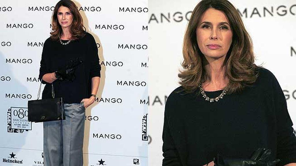 Ana García-Siñeriz, marcando tendencia con sus pantalones