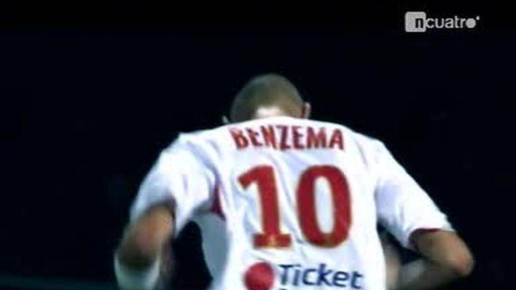 Benzema comienza a sonar fuerte en el Santiago Bernabéu