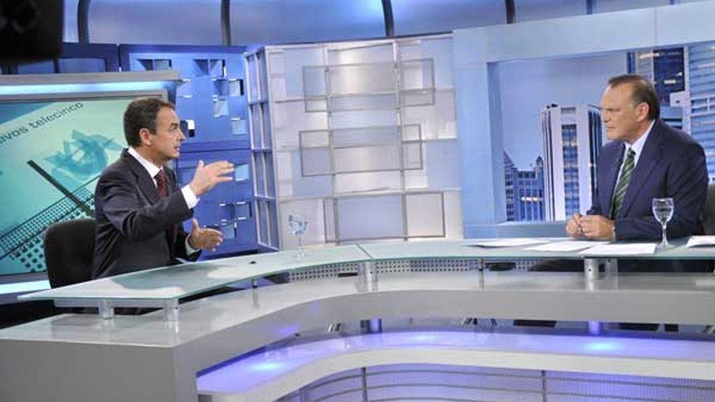 El presidente del Gobierno, en Telcinco