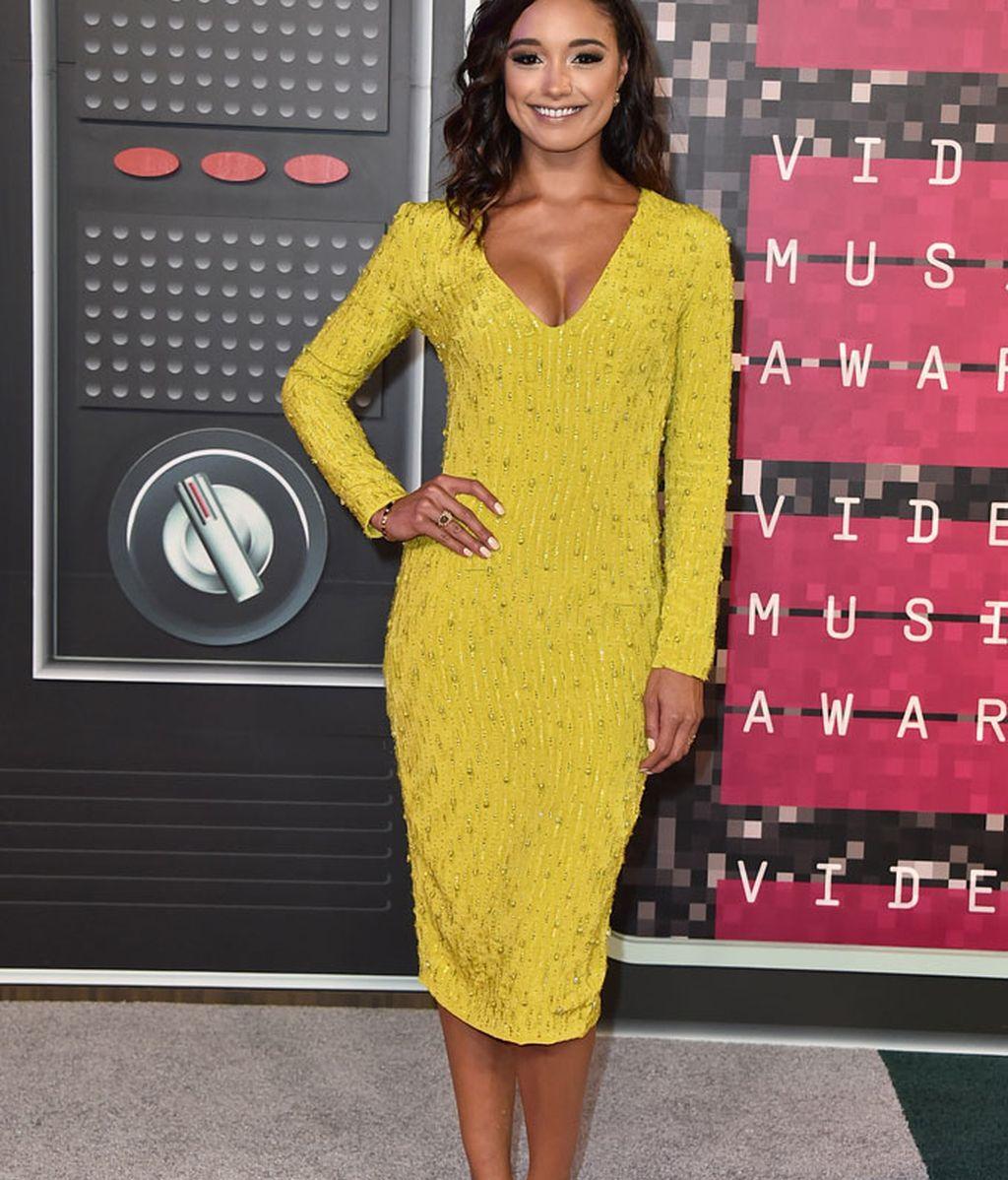 Rachel Smith en los premios MTV