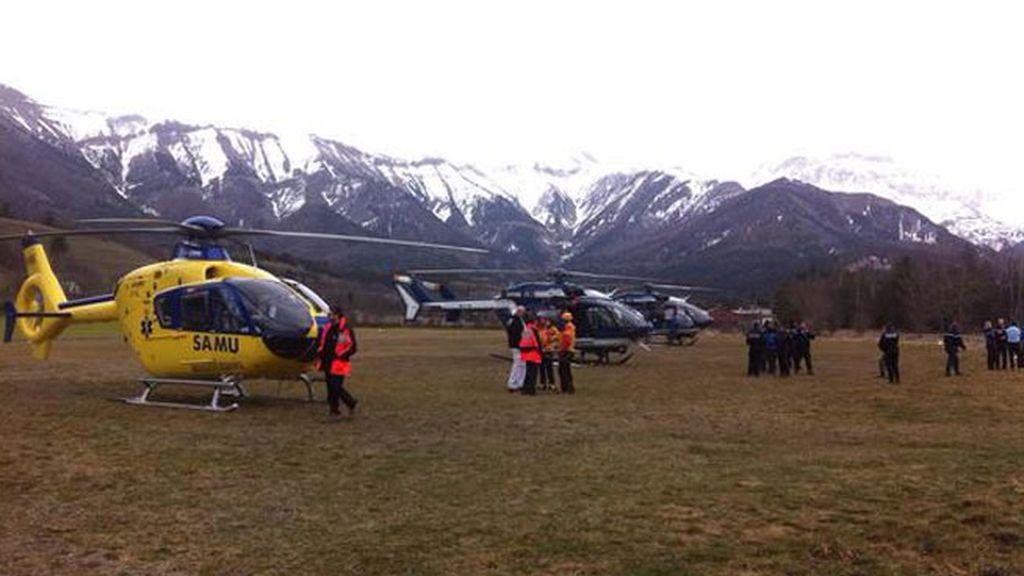 Difícil rescate de los cuerpos de los fallecidos en el accidente aéreo