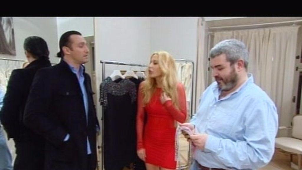 Rafa Méndez presecia un showroom privado de Marta Sánchez