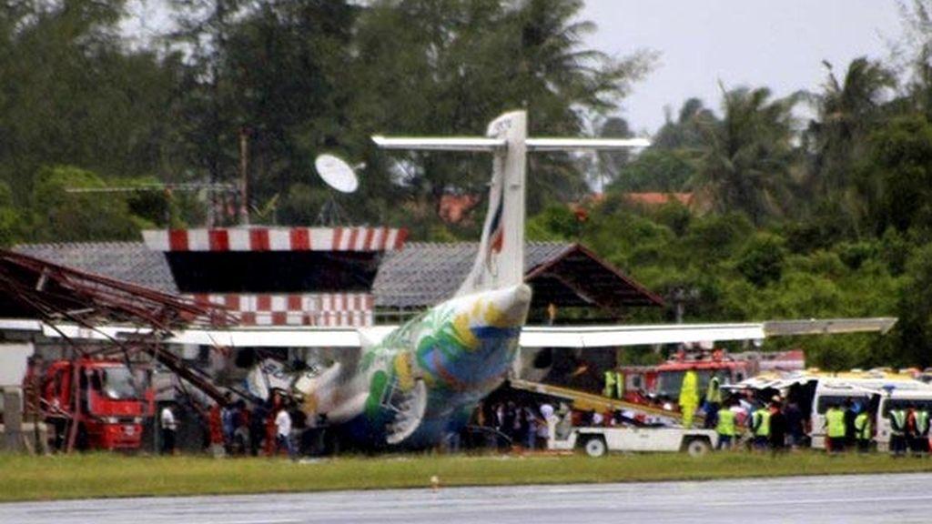 Accidente aéreo en Tailandia