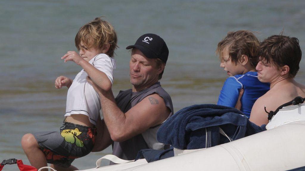 Bon Jovi se refugia en las playas de Saint Barthelemy, el escondite de las celebs