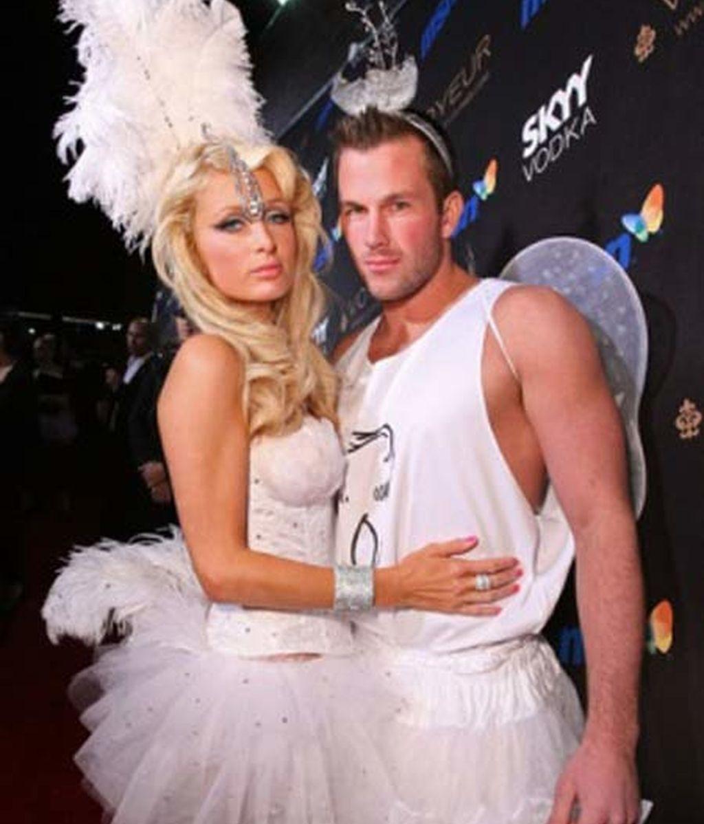 Paris Hilton y su novio  Doug