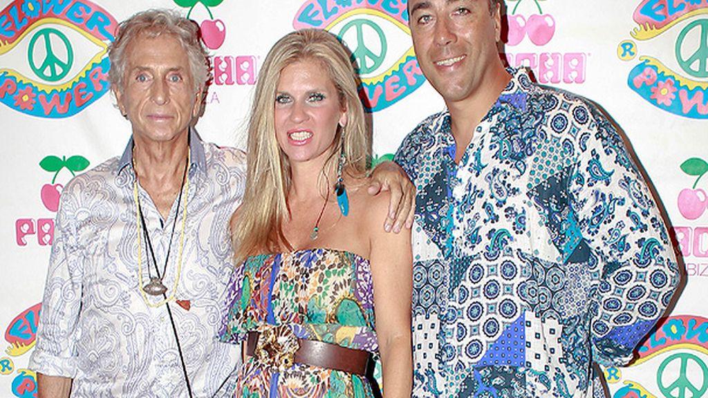 Lorenzo Quinn en la fiesta 'Flower Power' de Ibiza