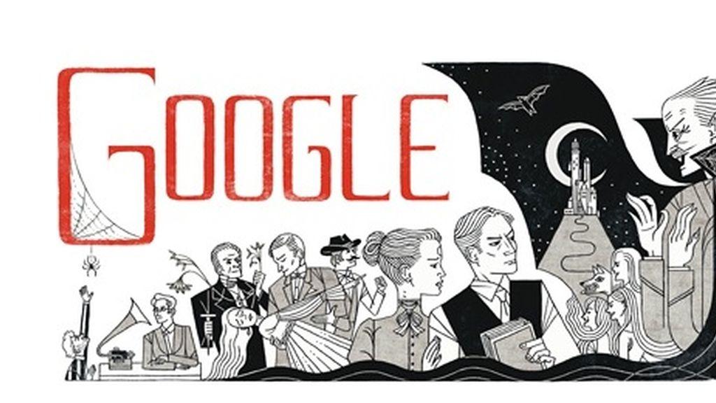 Google homenajea a Bram Stoker