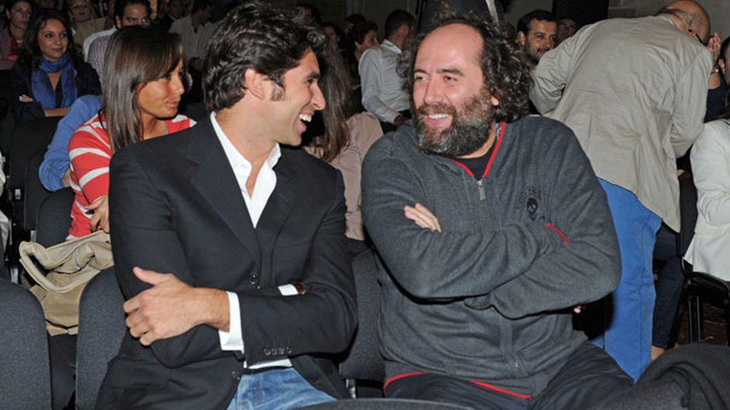 Mikel y Cayetano disfrutan de la Gala juntos