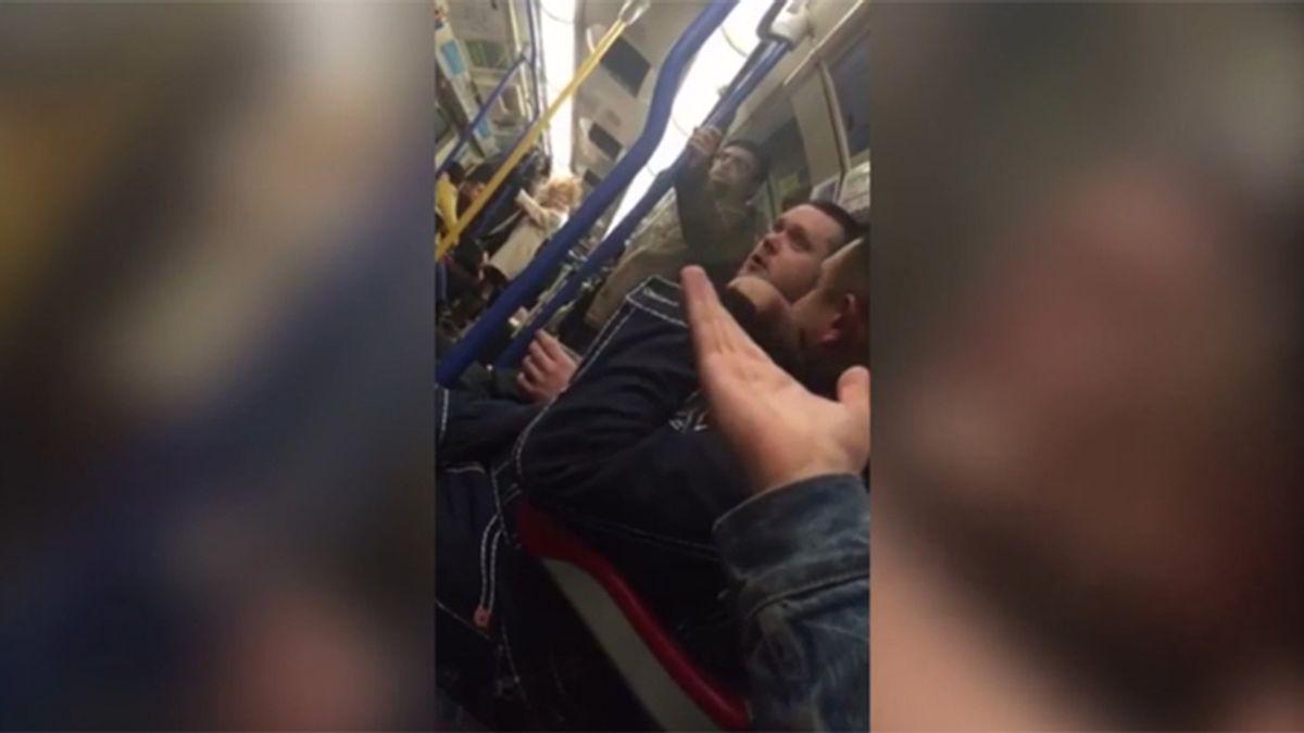 Un hombre desata su homofobia contra una drag queen en pleno metro de Londres
