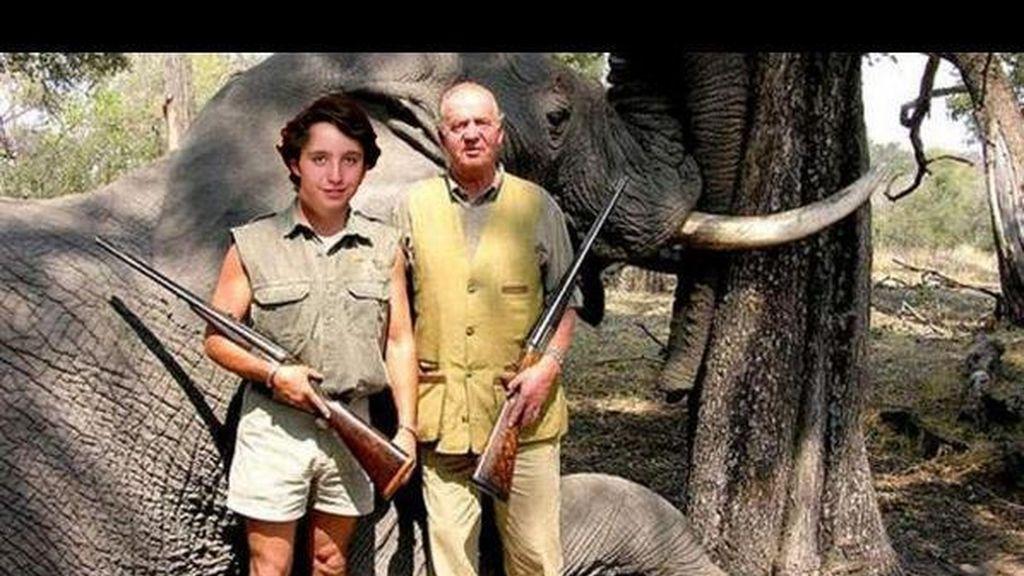"""Francisco Nicolás ya cazaba elefantes con mi abuelo"" @FroilanPrimero"