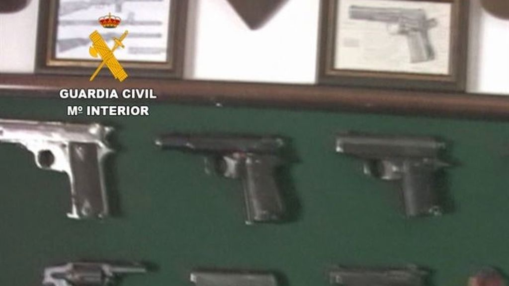 Incautan el mayor arsenal de armas de Málaga