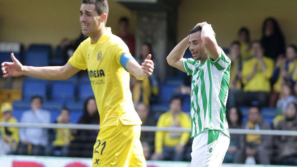 Villarreal empata ante el Betis