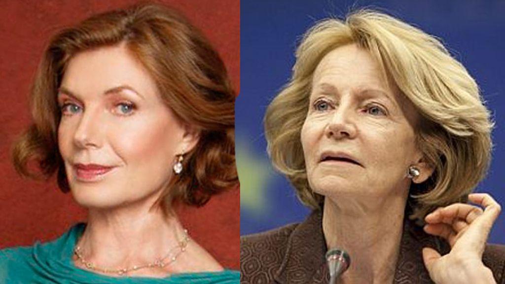 La madre de Castle es la política Elena Salgado
