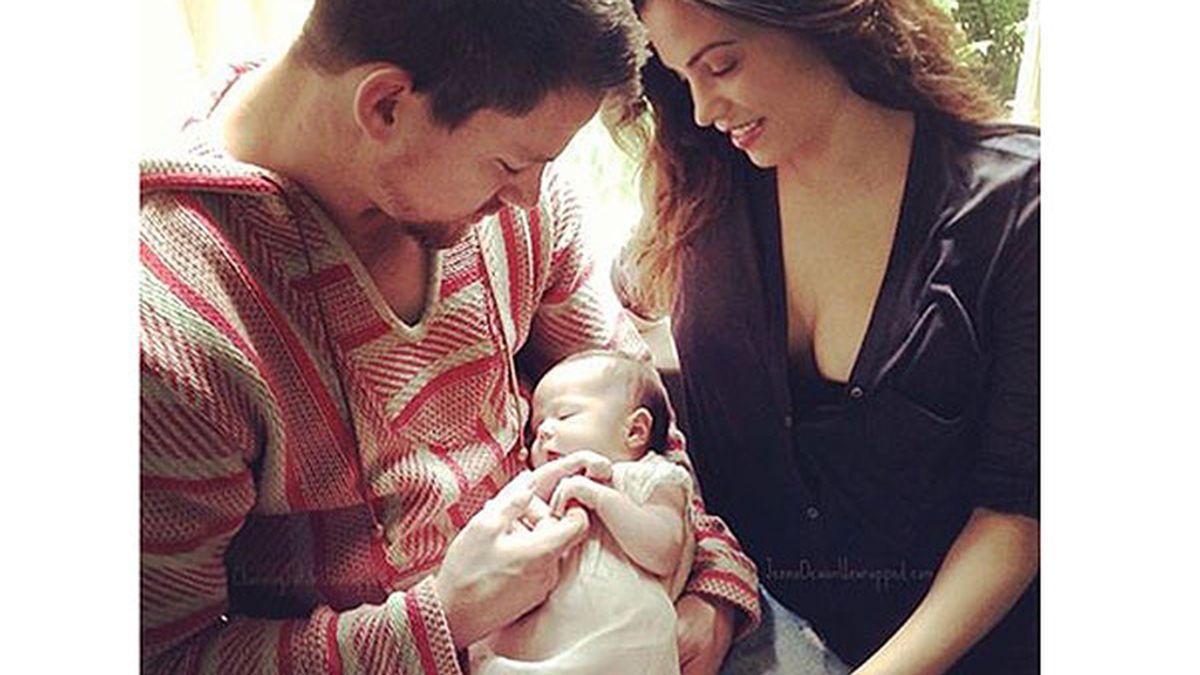 Channing Tatum, el hombre más sexy del mundo, nos presenta a su hija
