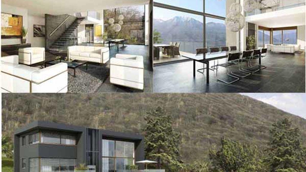 La casa más cara del mundo, que se encuentra en Suiza. Foto: Iberpress