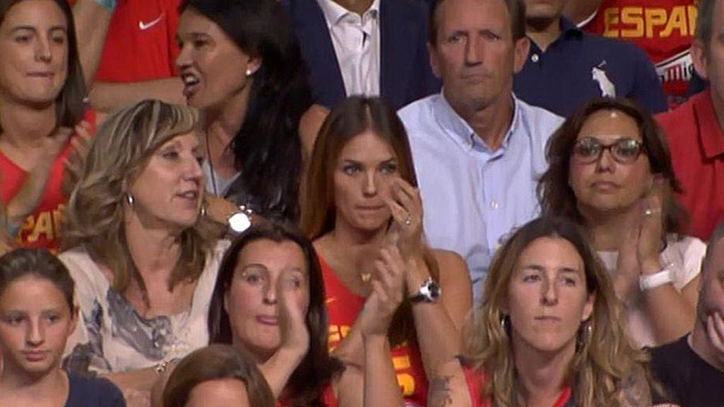 La ex miss España y modelo Helen Lindes fue a ver a su novio, Rudy Fernández