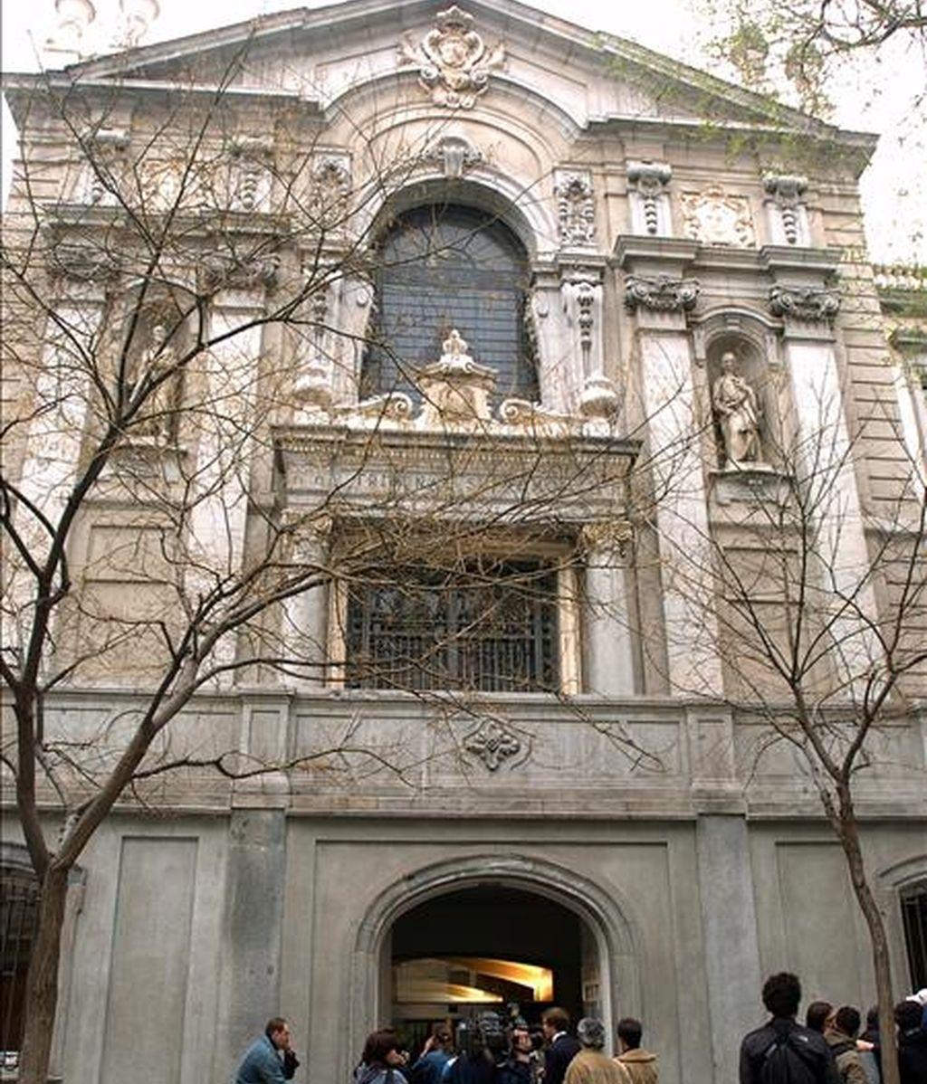 Vista exterior de la sede del Tribunal Supremo en Madrid. EFE/Archivo