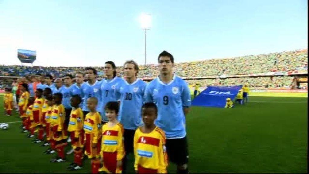 Promo Mundial 2010. La semifinal Uruguay-Holanda en Cuatro