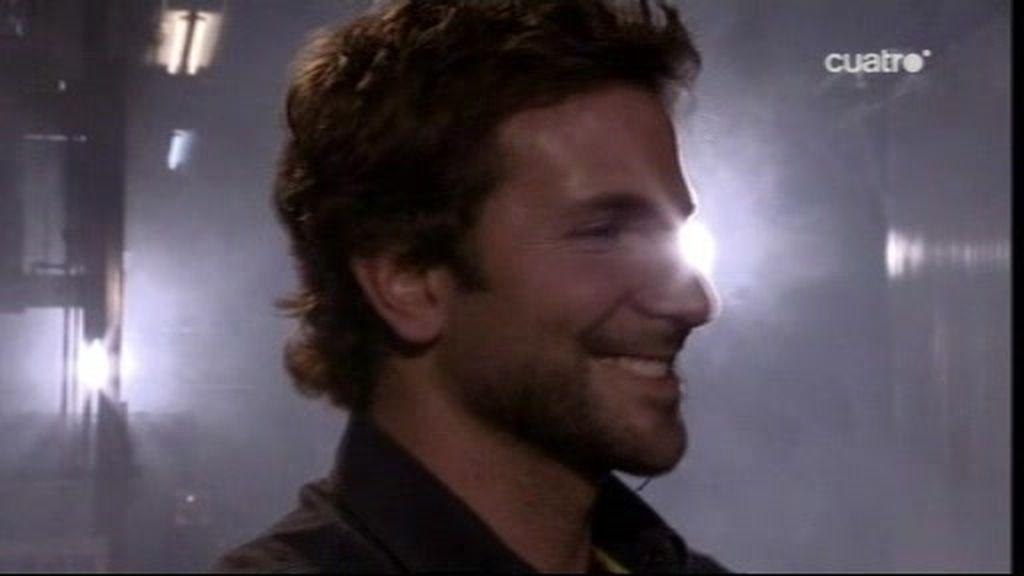Bradley Cooper hace arte a lo bestia