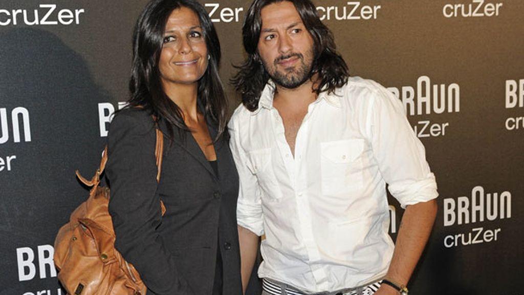 Rafael Amargo y su novia, Silvia Calvet