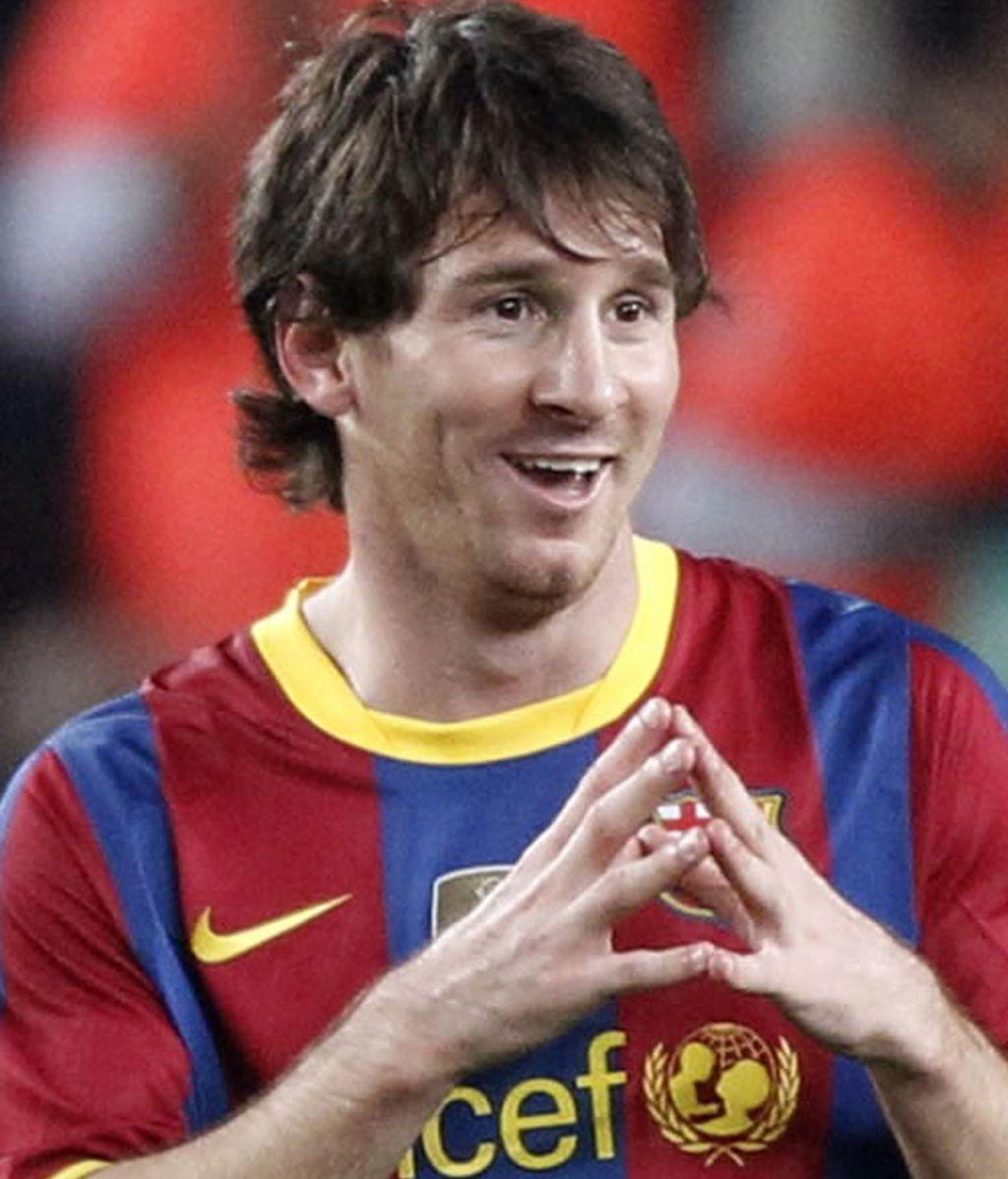 Messi resuelve un partido soso y sin brillo