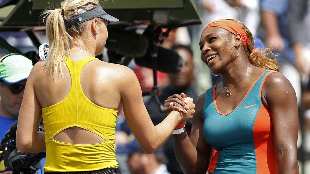 Maria Sharapova (24,4 millones) y Serena Williams (22) son las primeras mujeres del ranking