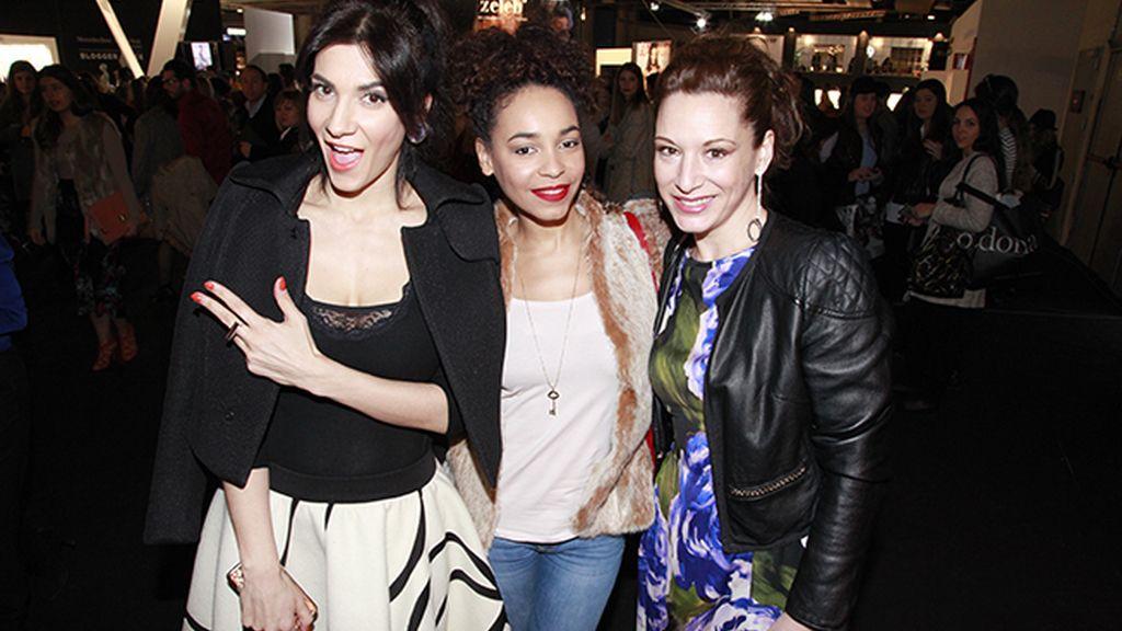 Cecilia Gessa, Montse Pla y Eva Almaya