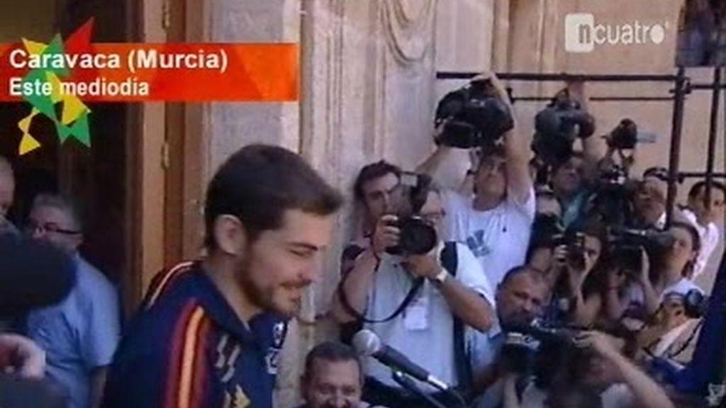 'La Roja' desata la locura en Murcia