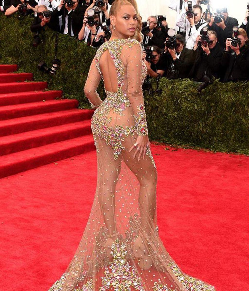 Beyonce vestida de Givenchy