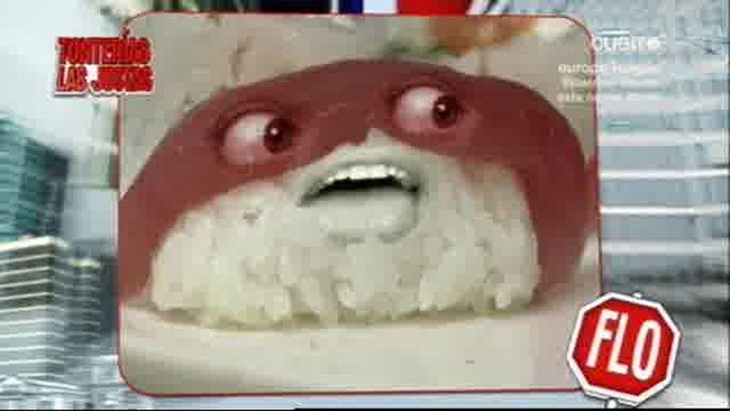 Está sushi está muy vivo