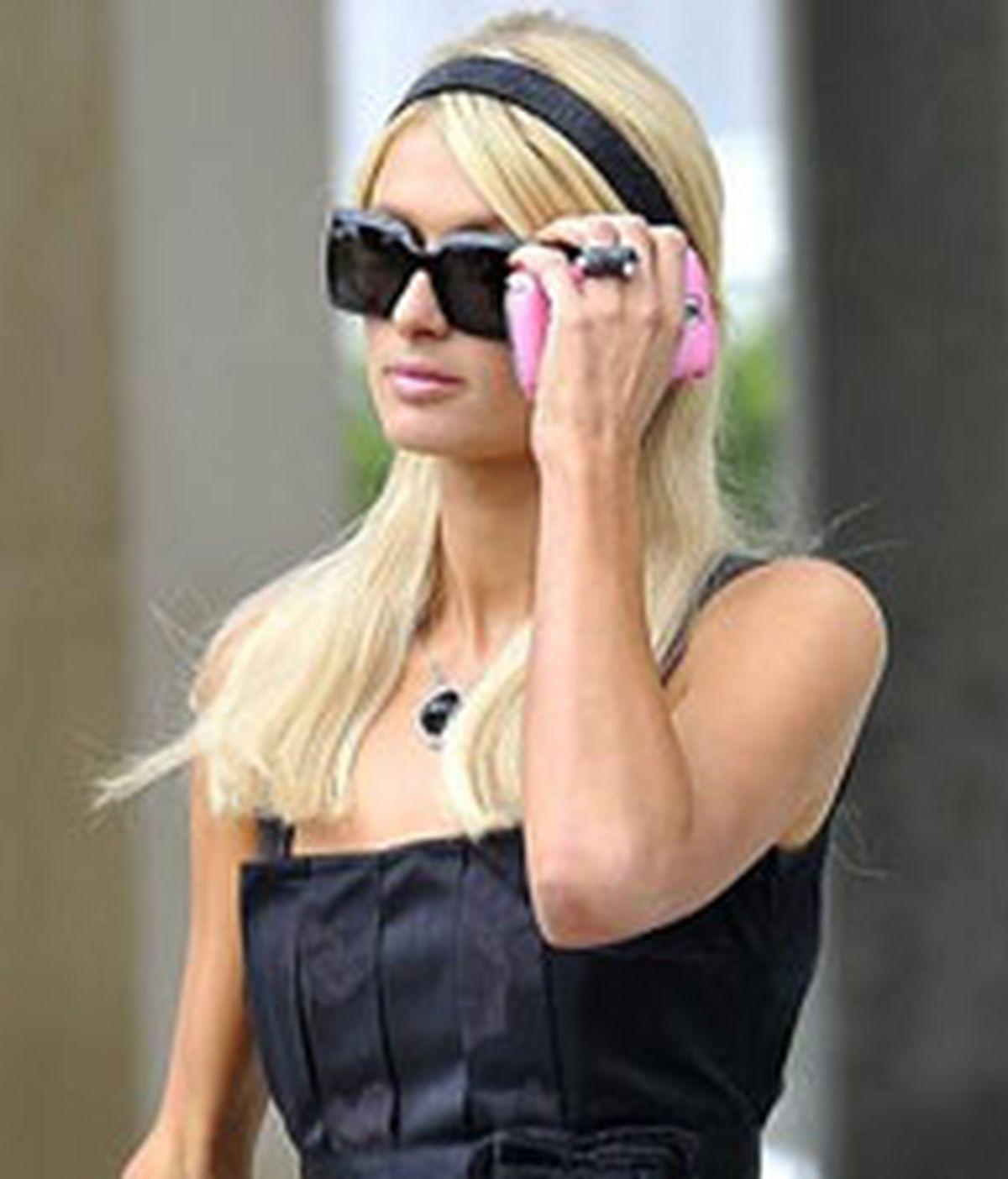 Paris Hilton, el pasado mes de agosto. Foto: EFE.