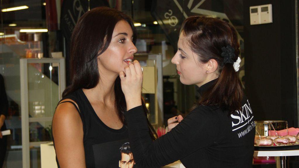 """Noelia López: """"Debido a mi trabajo, tengo que cuidar mucho mi piel"""""""