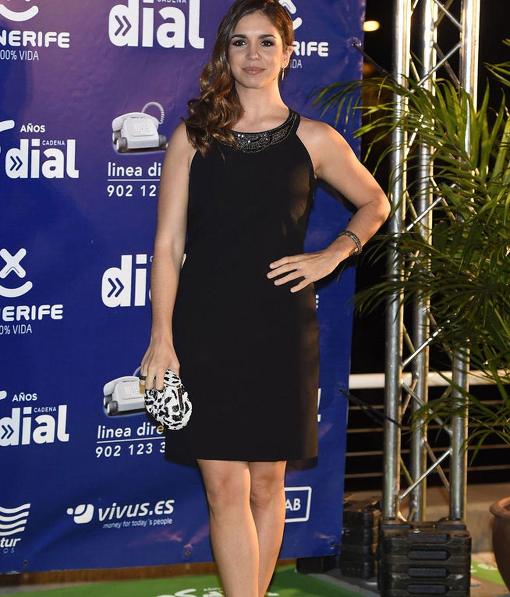Elena Anaya con un elegante vestido negro
