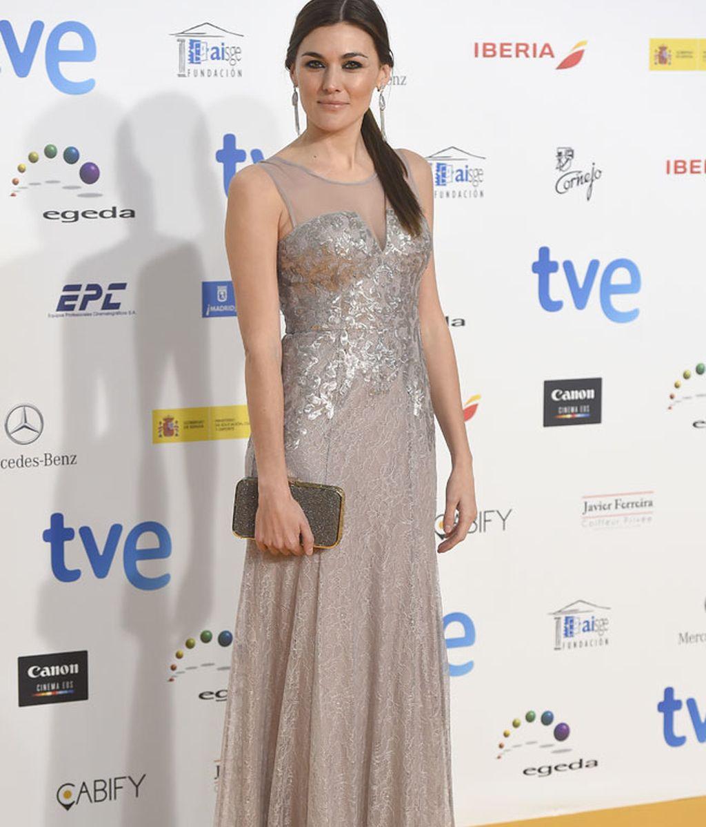 Marta Nieto con vestido de inspiración sirena