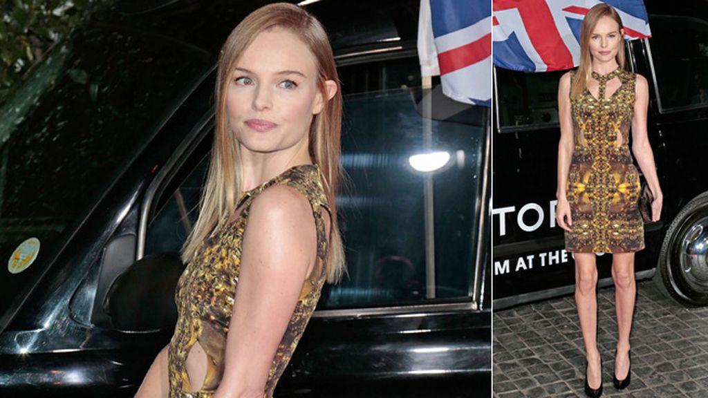 Kate Bosworth, más delgada que nunca, presentó la inauguración