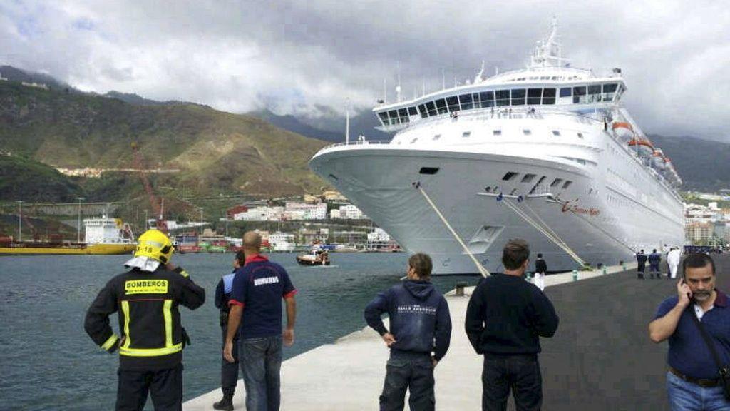 Cinco muertos en La Palma. Foto: EFE