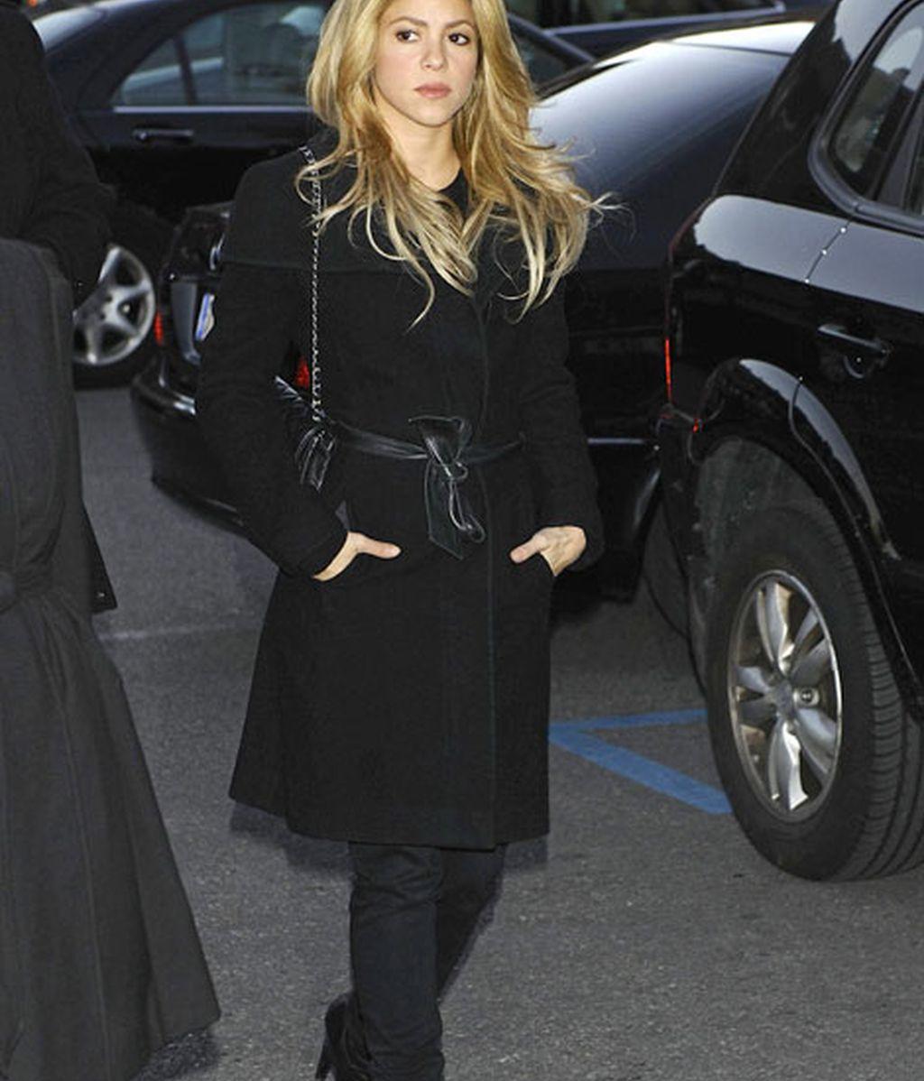 Shakira viajó hasta Madrid para despedirse de Irene Vázquez
