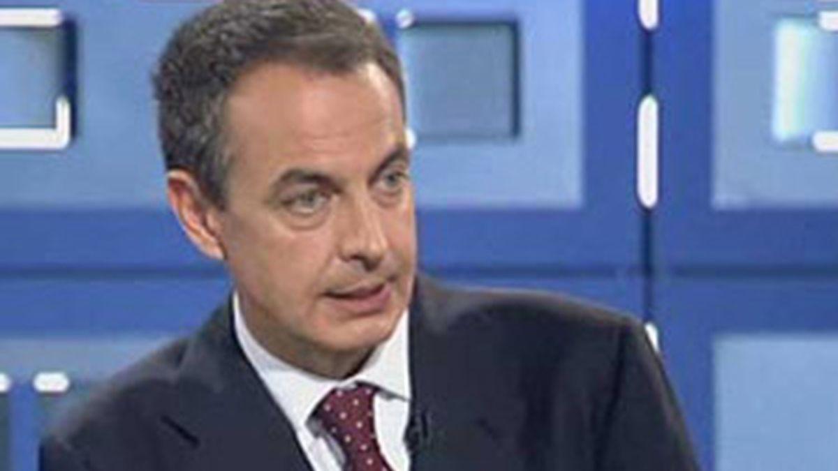 Uno de los temas principales de la entrevista, la crisis. Vídeo: Informativos Telecinco