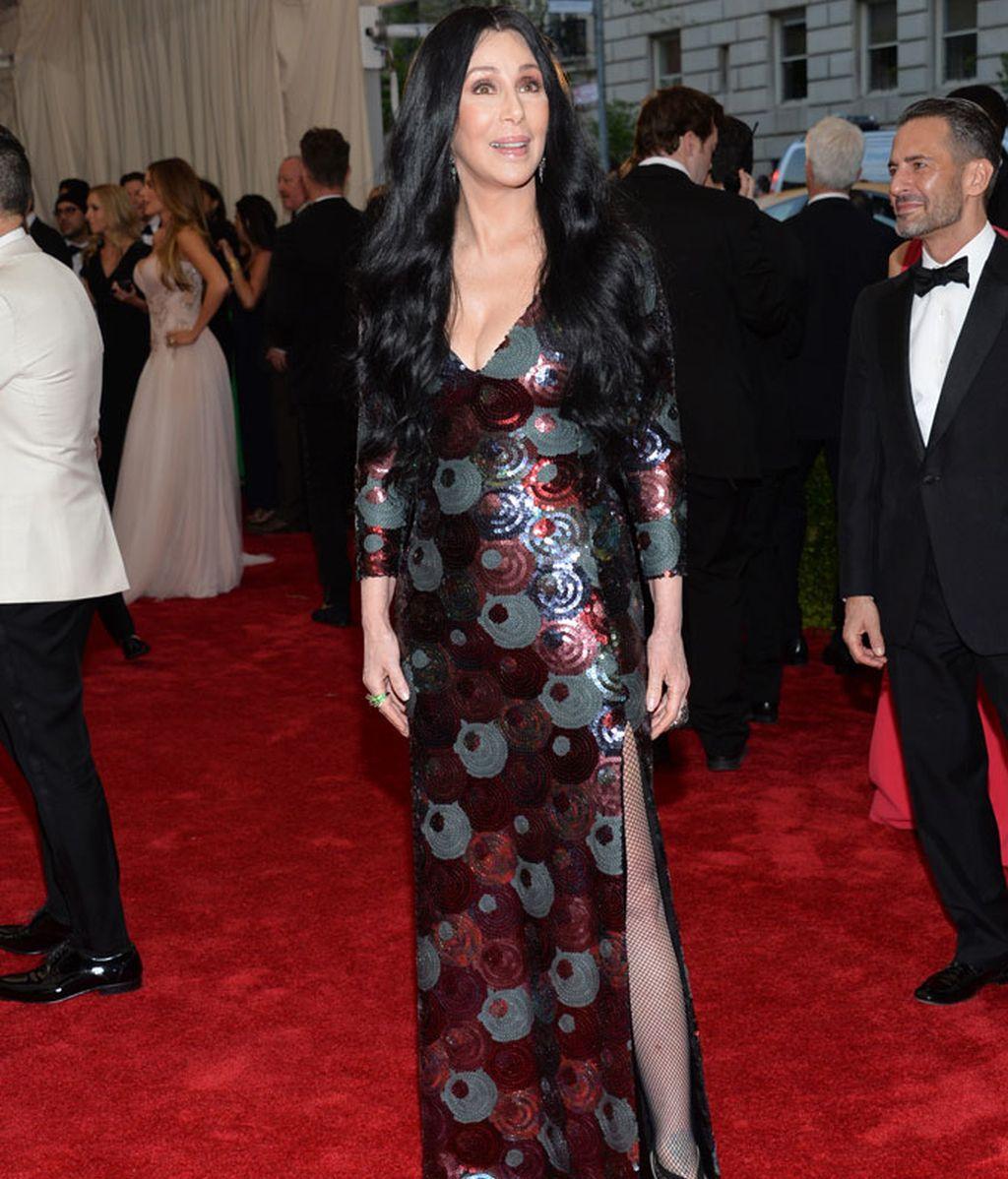 Cher llegó acompañada de Marc Jacobs